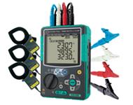 クランプ式電力計 メーカー名:共立電気計器㈱