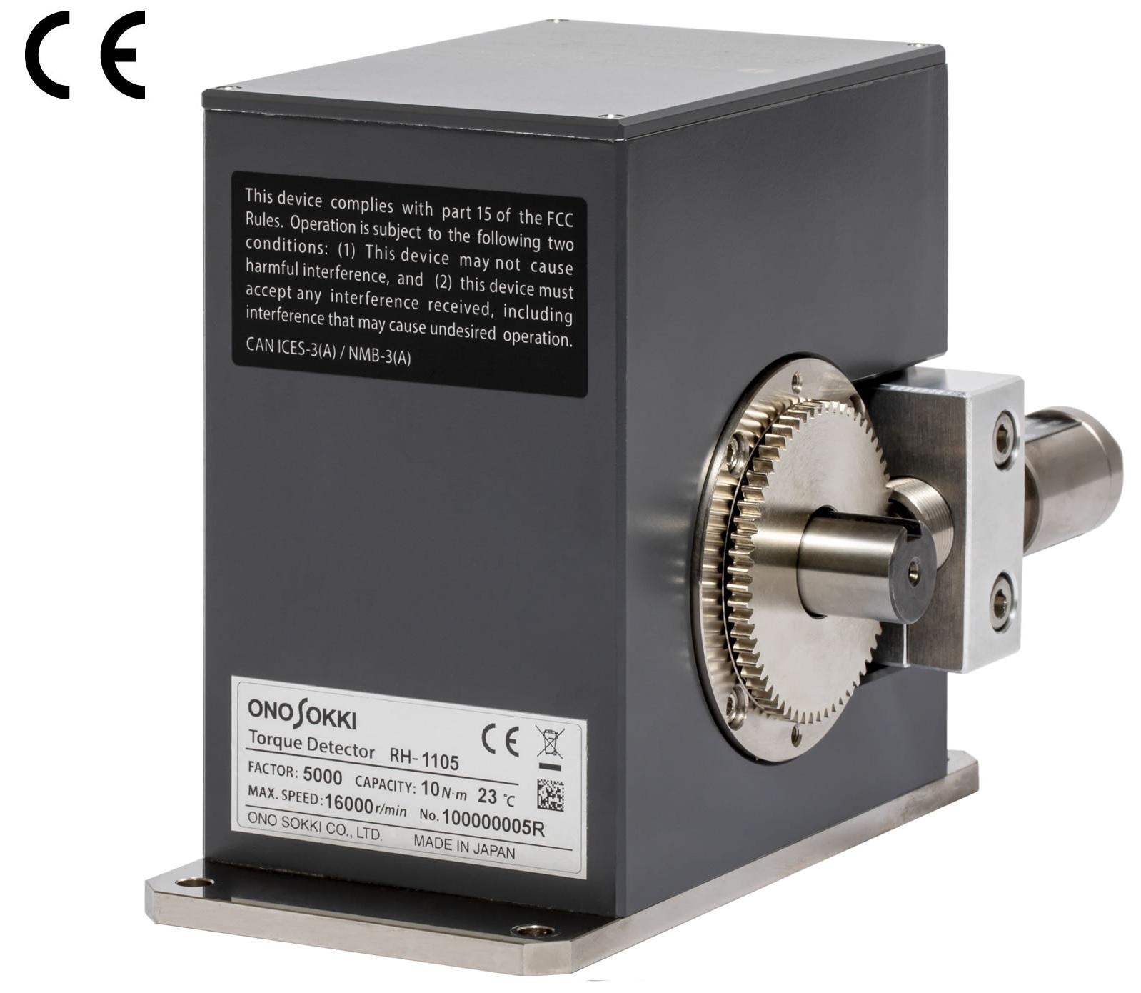 株式会社 小野測器 小型高剛性トルク計 RH-1105 / RH-1205画像