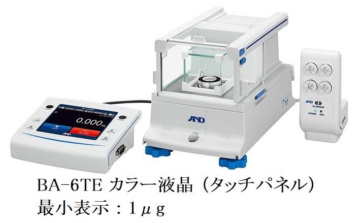 株式会社エー・アンド・デイ BA-6TEカラー液晶 (タッチパネル)画像