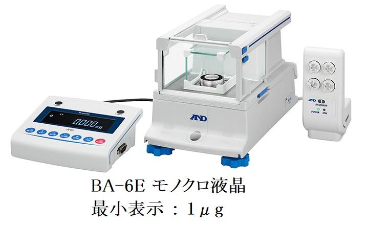 株式会社エー・アンド・デイ BA-6E モノクロ液晶 画像