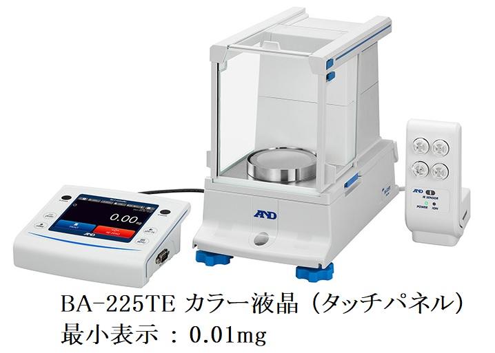 株式会社エー・アンド・デイ BA-225TE カラー液晶 (タッチパネル)画像