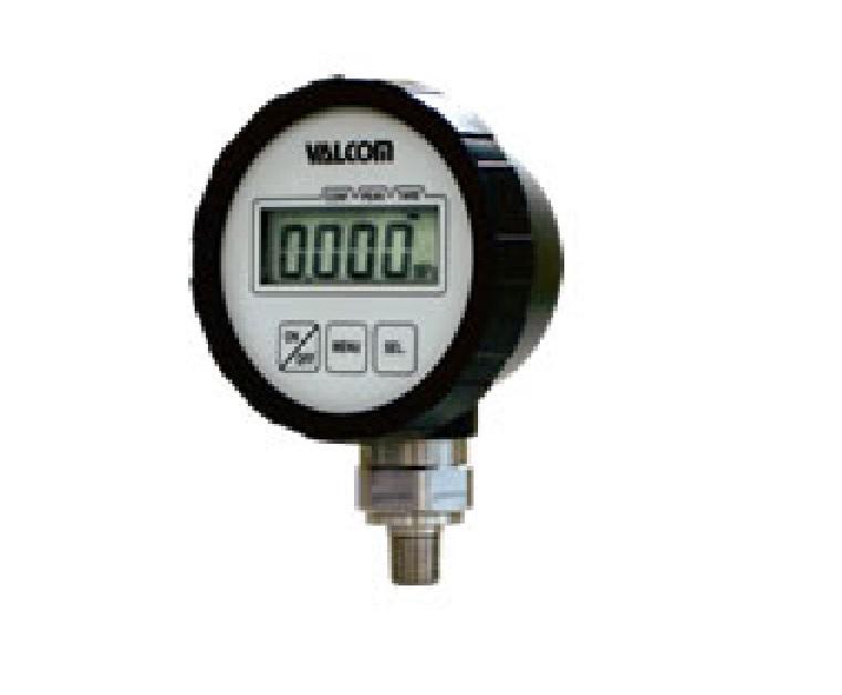 電池式デジタル圧力計 メーカー名:㈱バルコム